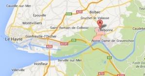 L'accident est survenu sur la D982 au niveau de Saint-Jean-de-Folleville (@Google Maps)
