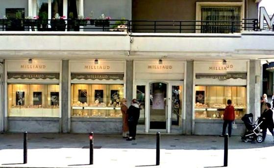 La bijouterie Milliaud est située en centre ville du Havre, avenue René Coty (@Google Maps)