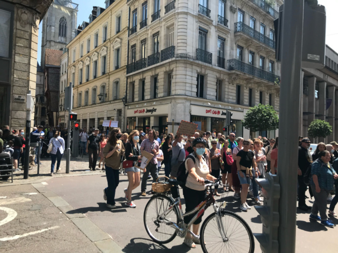 Seine-Maritime : les anti-pass sanitaire et anti-vaccin obligatoire mobilisés à Rouen et Caen