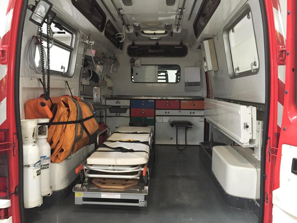 La victime a été transportée vers un hôpital de la région - Illustration