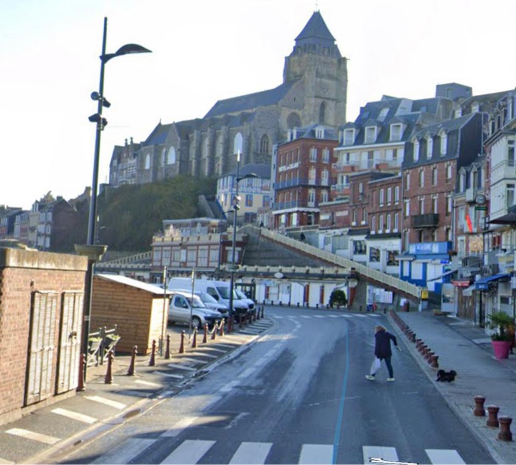 Les deux piétons ont été renversés quai Francois-1er - illustration @ Google maps