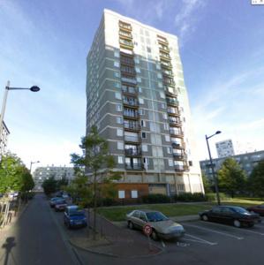 Le drame est survenu dans le quartier de Caucriauville, dans un des immeubles de 14 étages (@Google Maps)