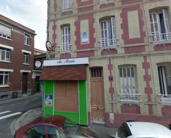Michaël habitait au 1er étage de cet immeuble situé au n°57 de la rue Jules Tellier à l'angle de la rue Collard, au Havre (@Google Maps)