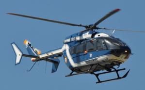 L'hélicoptère de la gendarmerie a survolé pendant près d'une heure et demie la zone nord du département à la recherche du fugueur (Photo : flickr/Olivier Cabaret)