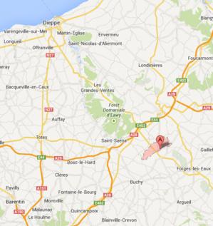 Accident mortel : la D 915 coupée dans les deux sens à Sainte-Geneviève, en Seine-Maritime