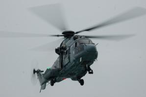 L'hélicoptère Rescue Belligou de la marine nationale (Photo : PREMAR)