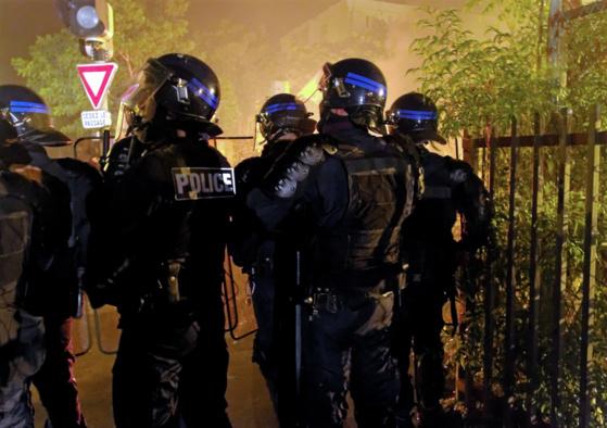 Les policiers de la compagnie d'intervention (CDI) sont entraînés à lutter  contre les violences urbaines (Photo d'illustration : Flickr/stef974run)