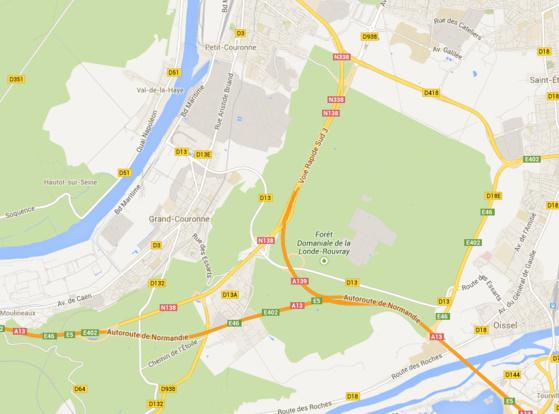 Opération anti-rodéos : la police quadrille la forêt de la Londe