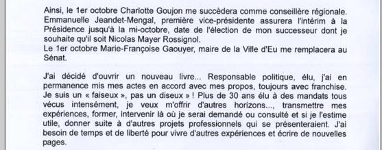 """Je suis un """"faiseux"""", pas un """"diseux"""", souligne Alain Le Vern dans sa déclaration"""