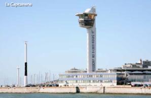La vigie du port duè Havre a guidé les opérations de recherches (Photo Prémar)