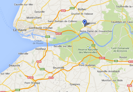 Un dépassement dangereux serait à l'origine de la collision sur cette départemenale où circulent beaucoup de camions desservant Port Jérôme (Notre-Dame de Gravenchon)