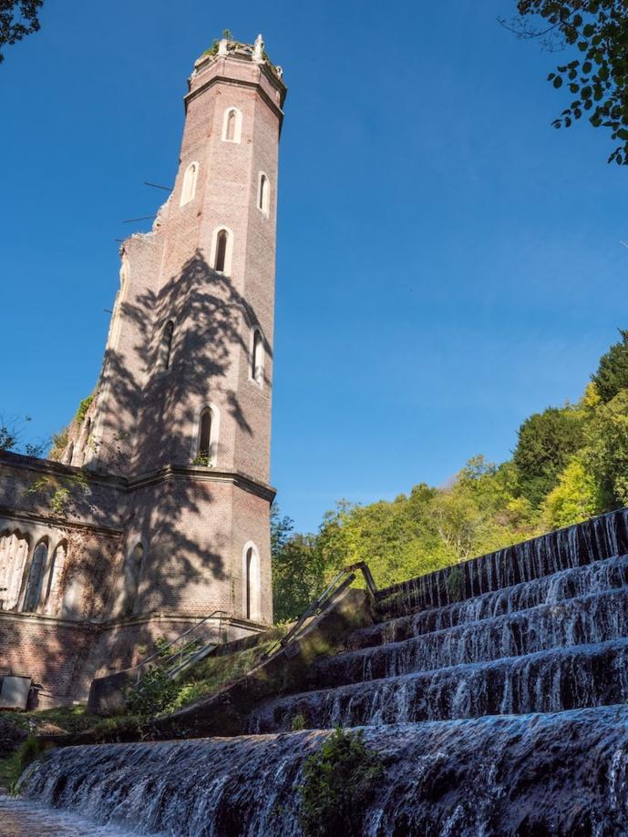"""Une nouvelle formidable pour cette """"ruine romantique"""" nichée dans la vallée de l'Andelle, selon le président du Département - Photos © Département de l'Eure"""