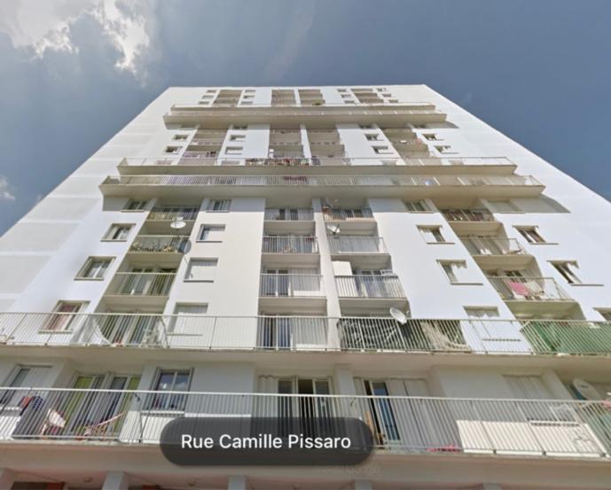 Le feu s'est propagé de bslcon en balcon entre le 2eme et 5ème étage - illustration @ Google maps