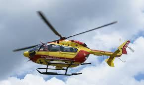 La victime a été transportée par Dragon76 à l'hôpital pour grands brûlés de Clamart, en région parisienne