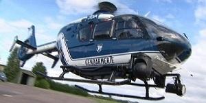 La caméra thermique embarquée dans l'hélicoptère de la section aérienne de la gendarmerie a été d'une grande utilité pour l'équipage de l''appareil (Photo d'illustration)