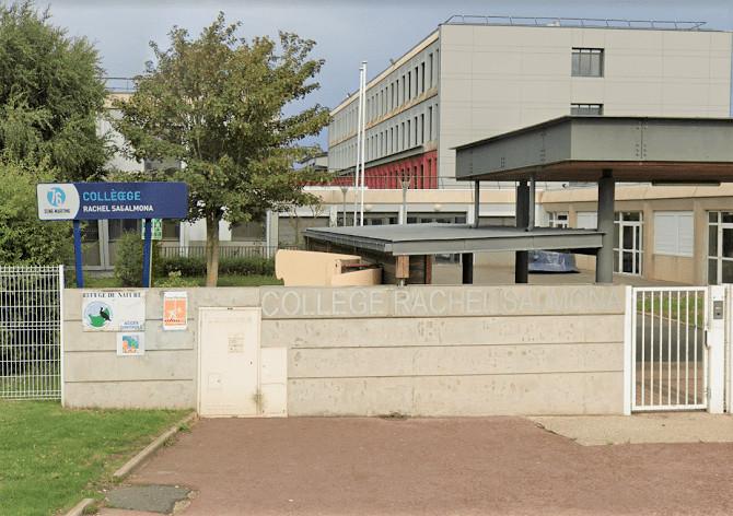Les 500 élèves de l'établissement ont été évacués le temps de la levée de doute - Illustration © Google Maps