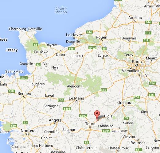 L'A10 coupée à la circulation en Indre-et-Loire à cause d'un camion en feu