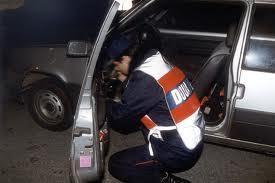 L'héroïne était planquée dans le véhicule, mais les douaniers n'ont eu aucun mal à la retrouver (Photo d'illustration: Douanes)
