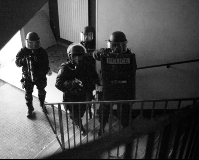 Les forces de l'ordre sont passées à l'action ce vendredi matin à 6 heures - Illustration