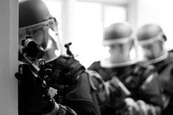 Les gendarmes super entraînés du peloton spécialisé de protection de la gendarmerie, chargés de la surveillance des centrales nucléaires (Penly et Paluel) ont participé au coup de filet de lundi matin (Photo d'illustration)