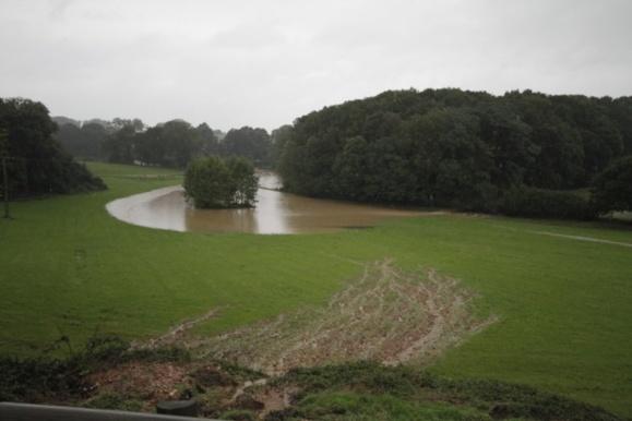 Les secteurs de Criquetot-l'Esneval et de Heuqueville sont les plus touchés par les inondations