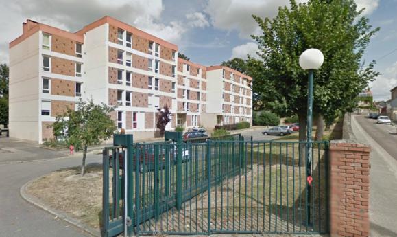 L'immeuble de la résidence des Tilleuls où a eu lieu le crime jeudi matin