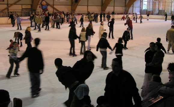 La patinoire du Kolysé, un lieu que le club de patinage artistique et synchronisé voudrait bien conserver