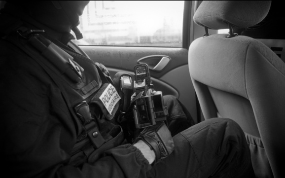 La police judiciaire de Rouen a mis tous les moyens techniques à sa disposition pour parvenir à confondre les auteurs présumés du braquage : surveillance, écoutes téléphoniques, filature...(Photo d'illustration : @DGPN-SICOP)