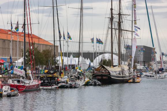 Ce week-end, les duos participent au Prologue Virtual Regatta Inshore dans le Bassin de l'Eure, en Bénéteau 7.50