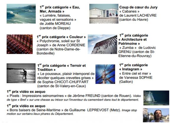 Seine-Maritime :  huit lauréats primés au 9ème concours pixels