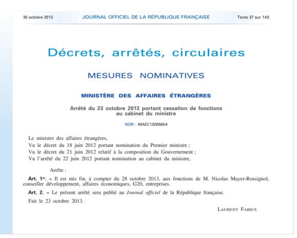 Le président de la Région Haute-Normandie n'est plus au cabinet de Fabius...