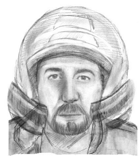 Ce motard dont le portrait-robot est diffusé par la gendarmerie est considéré comme un témoin clé de la tuerie de Chevaline