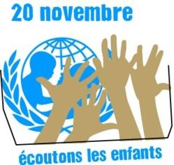 Journée internationale des droits de l'enfant le 20 novembre prochain