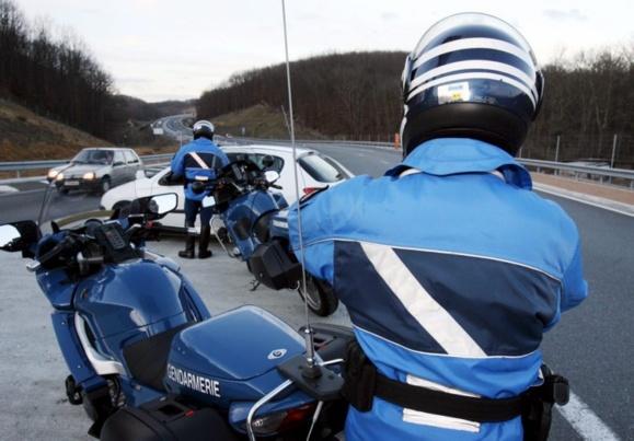 Les vingt motards de l'Escadron de sécurité routière de Seine-Maritime ont été mobilisés @Photo d'illustration (DR)