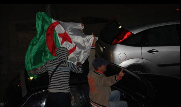 La qualification de l'Algérie au Mondial a été accueillie avec ferveur en Seine-Maritime ( photo d'illustration @citizenside)