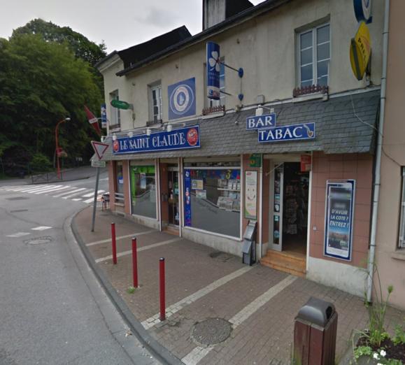Le Saint Claude est situé 98, rue Henri-Messager, à l'angle de la rue du docteur Rosenberg. Il était ouvert depuis peu de temps lorsqu'il a été braqué ce matin (@Google Maps)