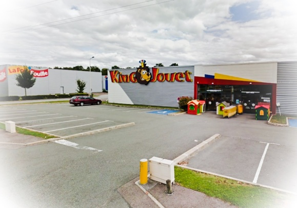 Le magasin King Jouet est situé un peu à l'écart dans la zone de la Garenne de Melleville à côté de la Foir'Fouille et de Troc de l'ile (Photo d'illustration)