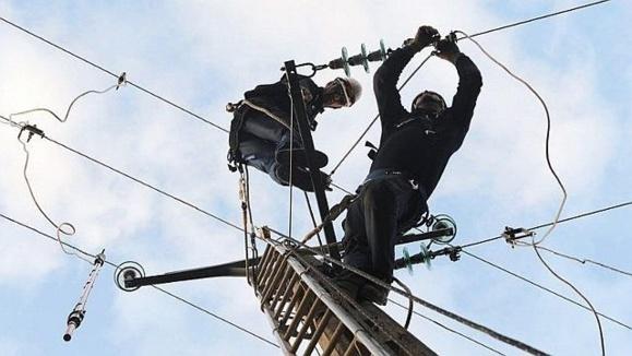 5 600 foyers ont été privés d'électricité en Haute-Normandie à cause des dégâts provoqués par la tempête sur les lignes (Photo d'illustration)