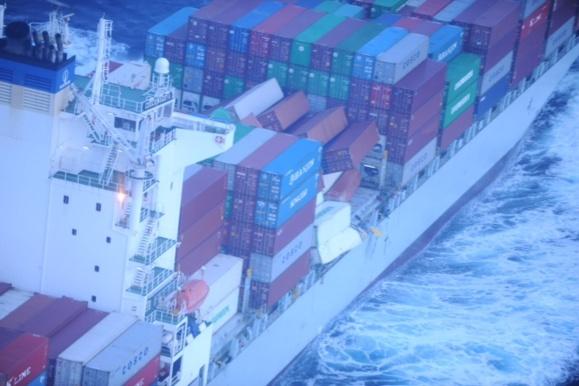 Le navire a été dérouté vers le port du Havre où sa cargaison sera inspectée demain matin (Photo Douanes)