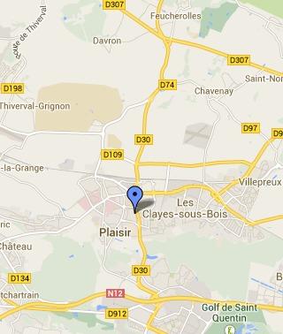 La D30 coupée dans les deux sens à Plaisir (Yvelines)