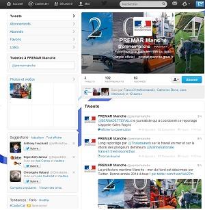 La préfecture maritime Manche-mer du Nord désormais sur Twitter