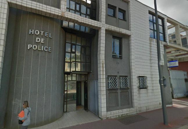 L'auteur présumé du coup de couteau a été placé en garde à vue ce vendredi matin au commissariat de police de Dieppe (@Google Maps)