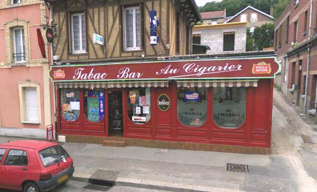 Le gérant du bar-tabac a été blessé au thorax. Il a été pris en charge par les sapeurs-pompiers (@Google Maps)