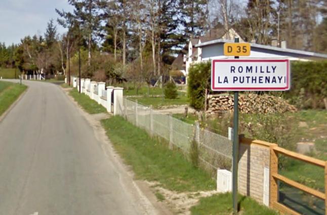 Toute la nuit, le village a été passé au peigne fin par les gendarmes, les habitants et le maire (@Google Maps)