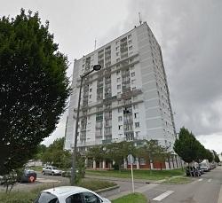 Le drame s'est déroulé dans cet immeuble de la rue Pissaro, au neuvième étage