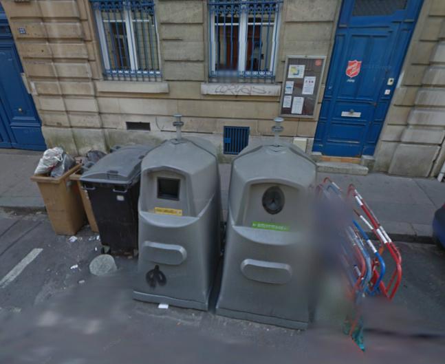 Ce sont ces conteneurs qui ont été incendiés sous les fenêtres du local de l'Armée du salut (Photo d'illustration)