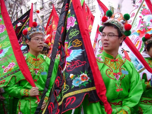 Le Nouvel An chinois donne lieu, chaque année, à des défilés et animations dans certaines villes de France. La ville du Havre fête ce Nouvel An depuis 2007 (Photo DR)