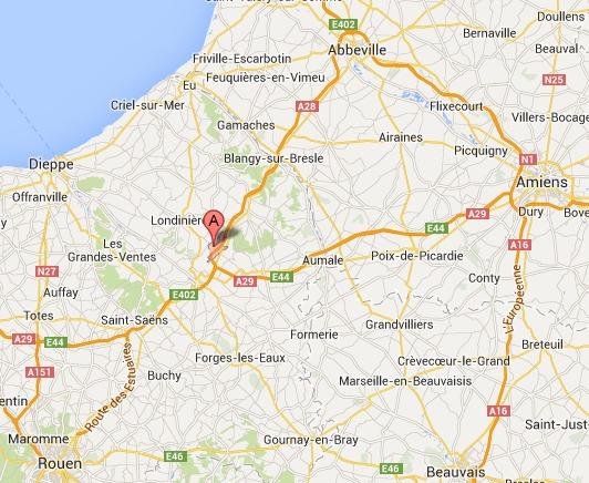 Seine-Maritime : L'A28 fermée après un accident de poids lourd en direction d'Abbeville