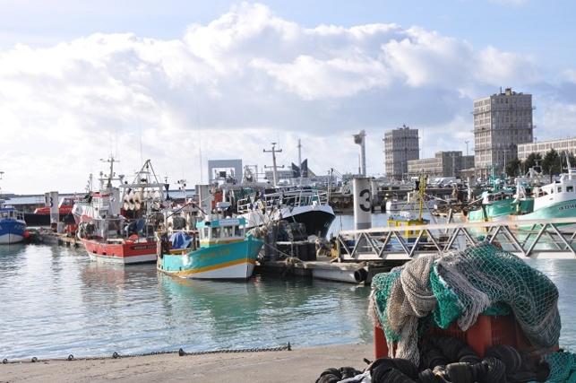 90 % de la pêche artisanale, s'exerce notamment à partir des ports de Dieppe, du Tréport, de Fécamp, du Havre et de Saint Valery-en-Caux (Photo d'illustration prise au Havre)