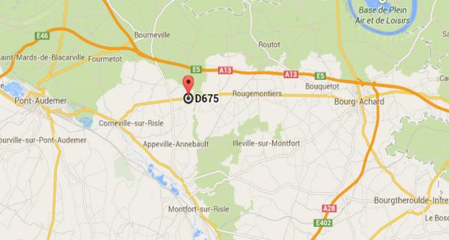 Trois blessés dont deux graves dans une collision à Corneville-sur-Risle